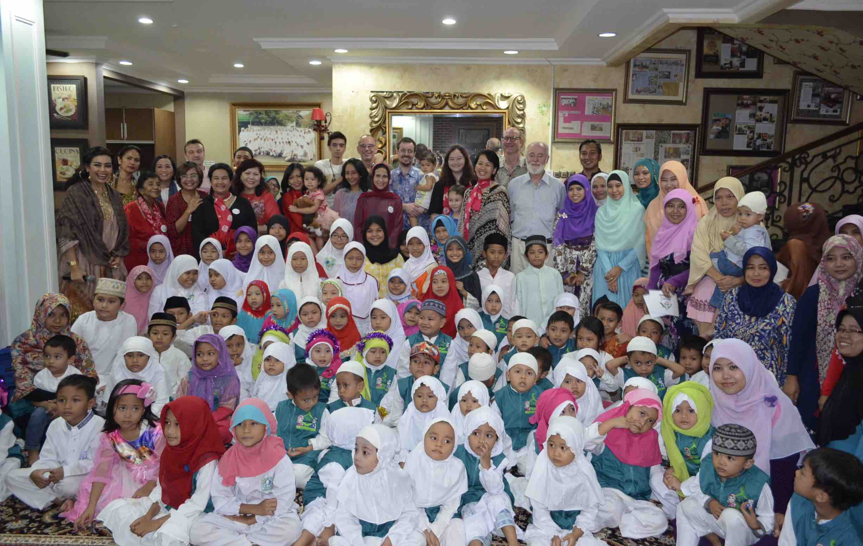 Ramadhan Berbagi bersama Rumah Belajar Miranda Residence